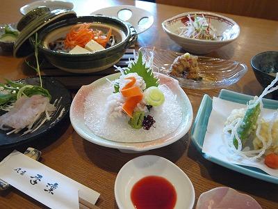 富士市 はも料理